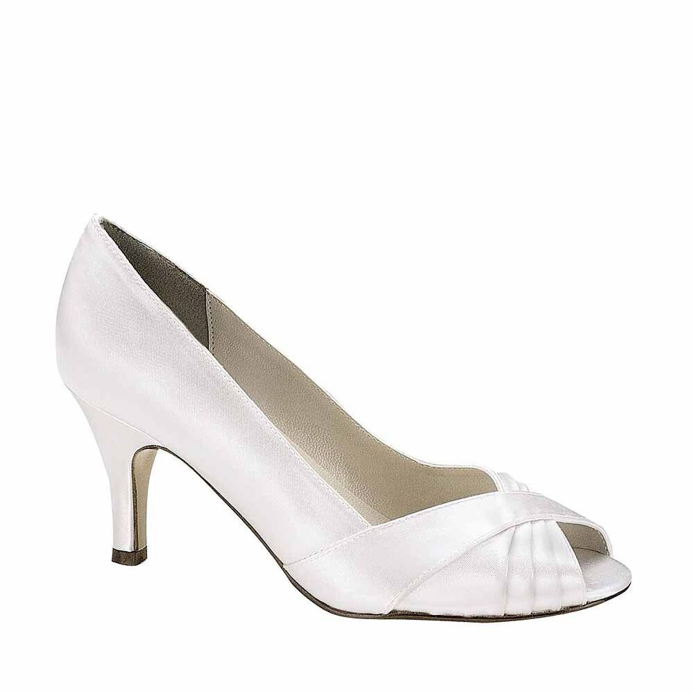 Dyeable Womens Wedding Shoes
