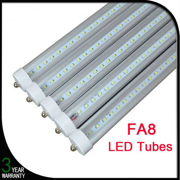 20pc 8ft 36w 6500k Led Light Fa8 Single Pin Fluorescent