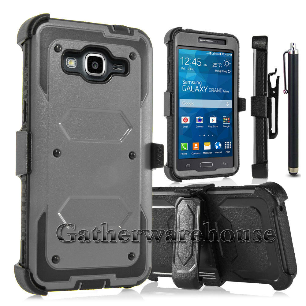 Case Design cell phone otterbox case : ... Grand Prime G530 Hybrid Rugged Holster Case Cover Stand Clip : eBay