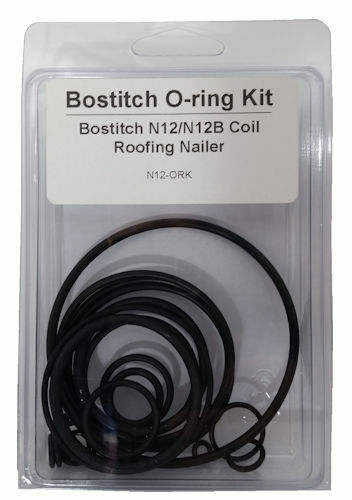 Tool Repair O Ring Kit For Bostitch N12 Nailer Ktbo912