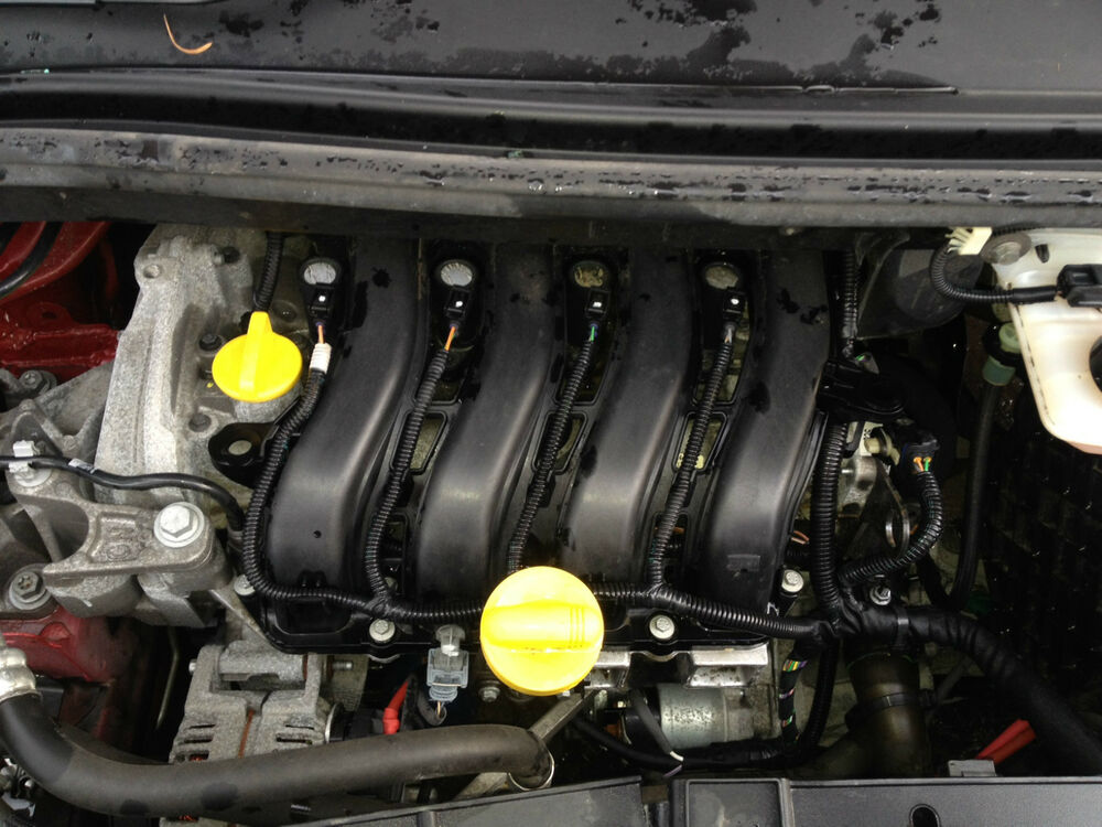 renault megane scenic mk3 1 6 16v engine 5 speed k4m 848 23 000 miles ebay. Black Bedroom Furniture Sets. Home Design Ideas