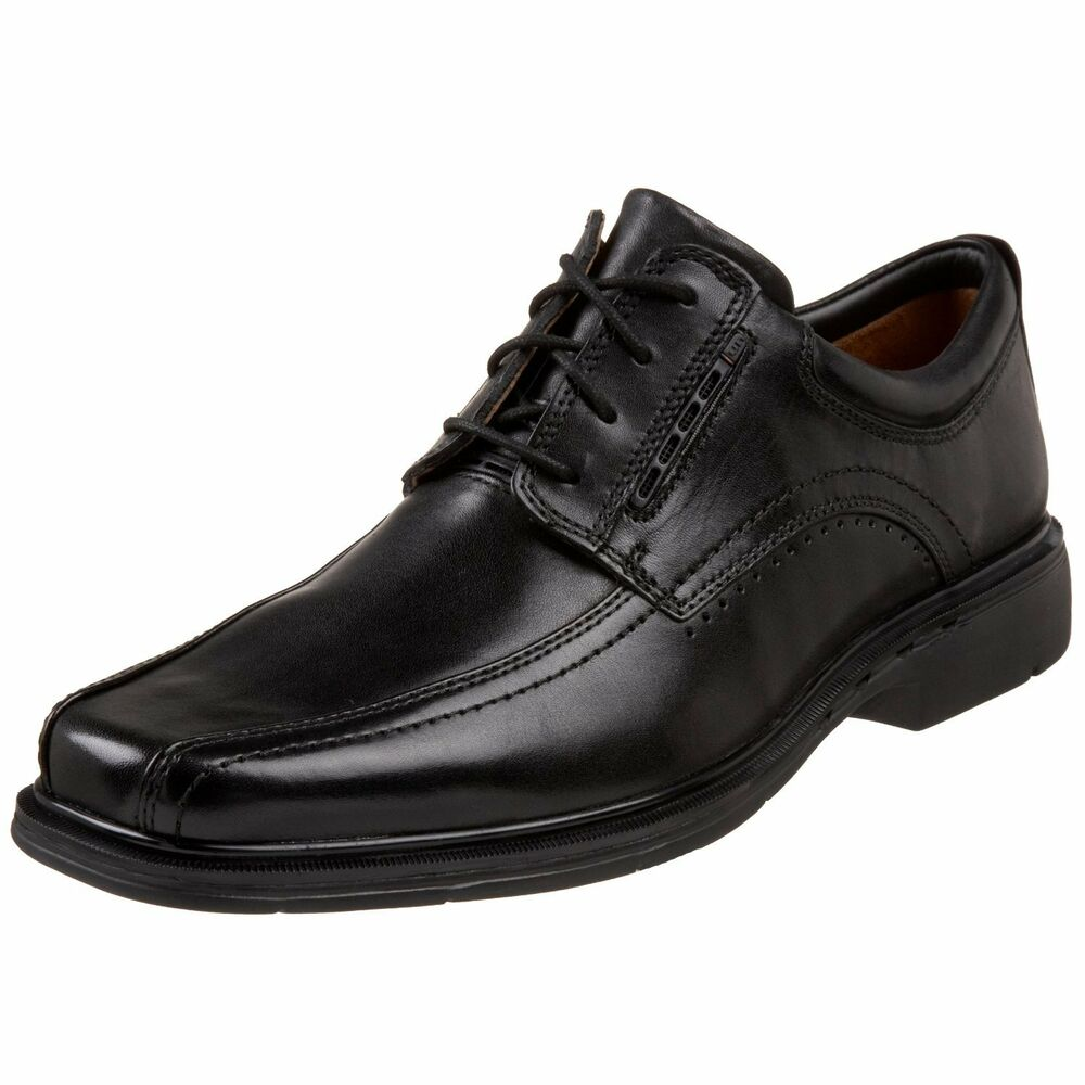 clarks s 86093 unstructured un kenneth black leather