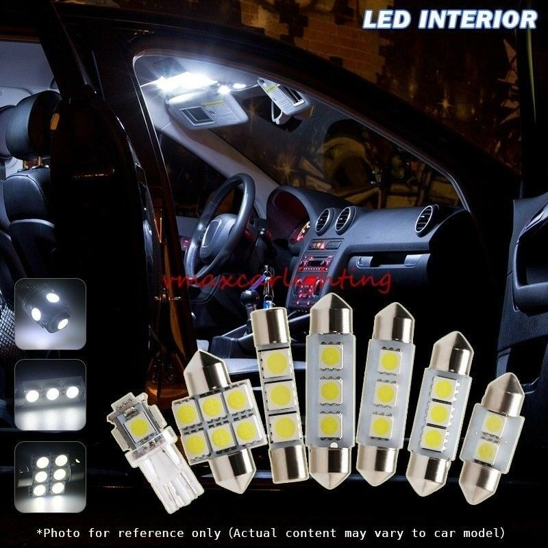 Details about 12pcs Xenon White Car LED Interior Light package For 2013-2014 Nissan Pathfinder