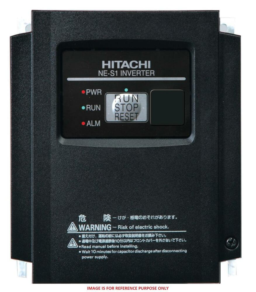 Hitachi ltd nes1 022lb inverter 200 240 volt 3 phase 3 for 3 phase motor hp to amps