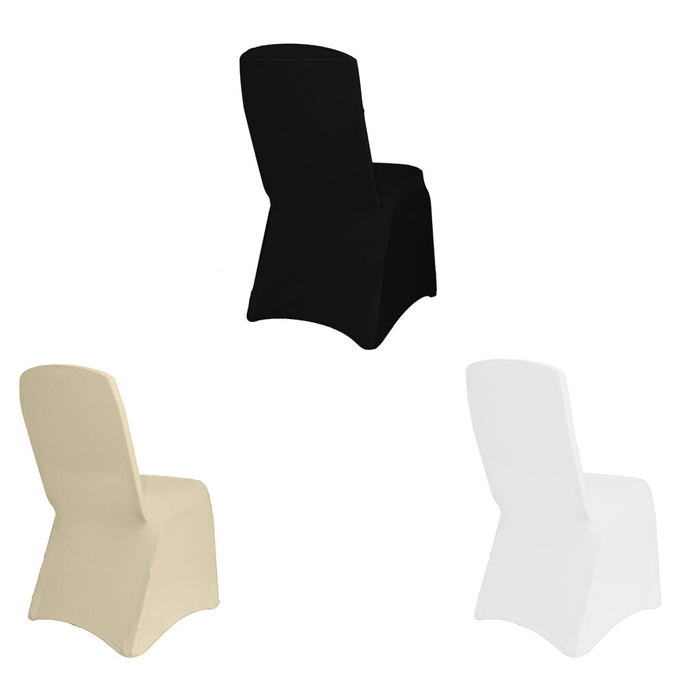 Square Top Stretch Banquet Spandex Chair Covers Box of  : s l1000 from www.ebay.com size 1000 x 1000 jpeg 26kB