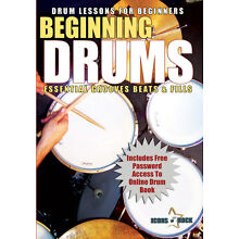 Learn To Play Drums Music Rock Drumming Rhythm Percussion NEW DVD FREE USA SHIP
