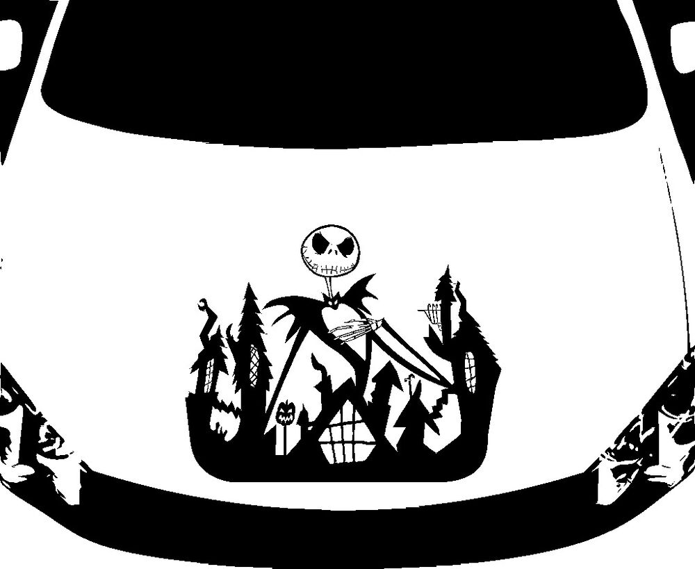 Large Decal Manufactures Uk Of Jack Skellington