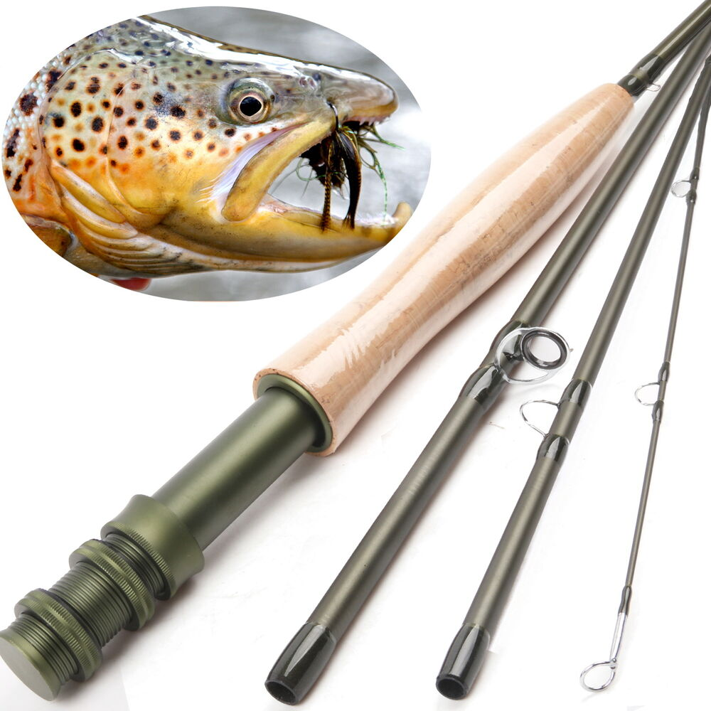 Fly rod 6wt 9ft 4pieces medium fast graphite im8 fly for Fishing rod tubes