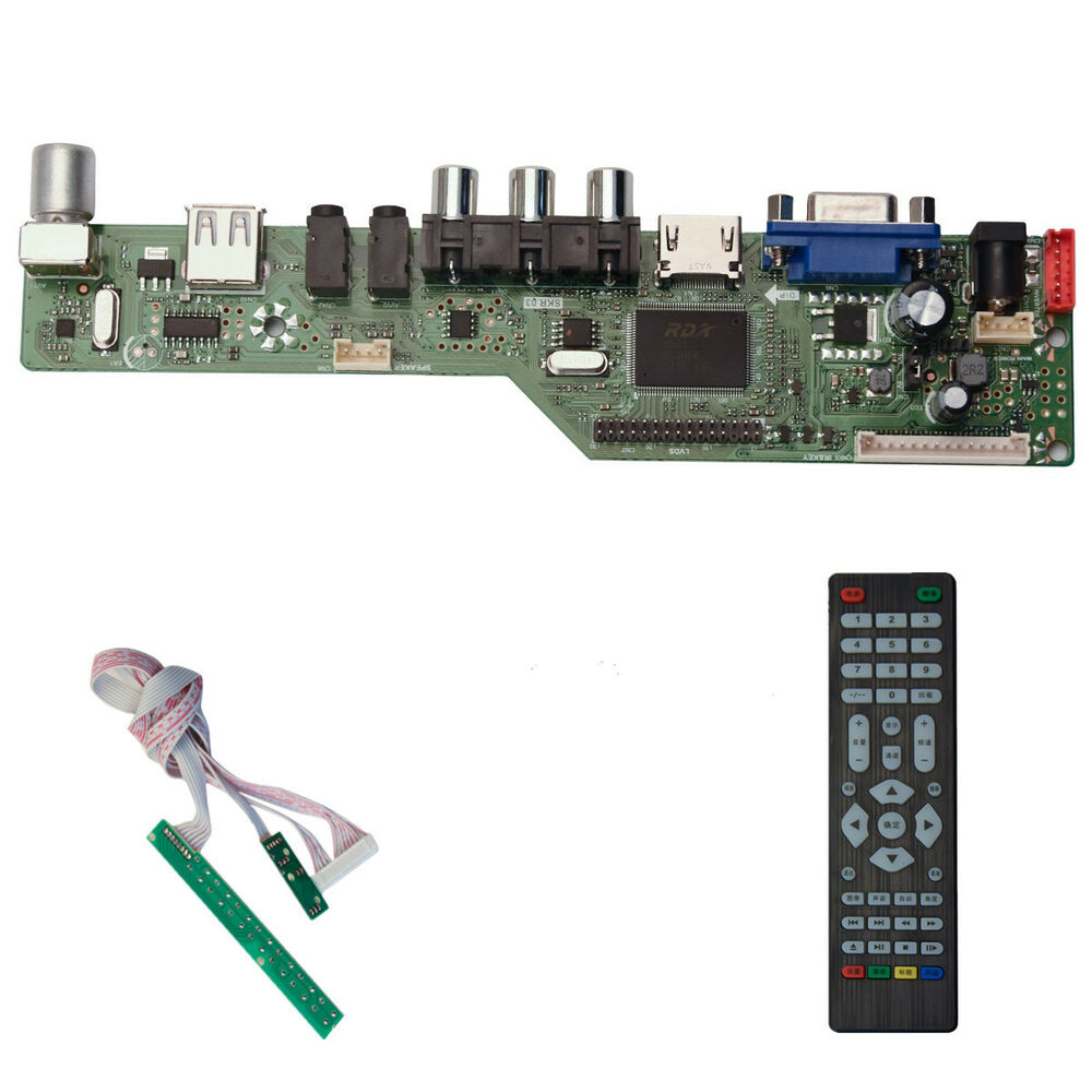 LCD LED Controller Driver Board Kit for HSD160PHW1-B00 housing HDMI+DVI+VGA