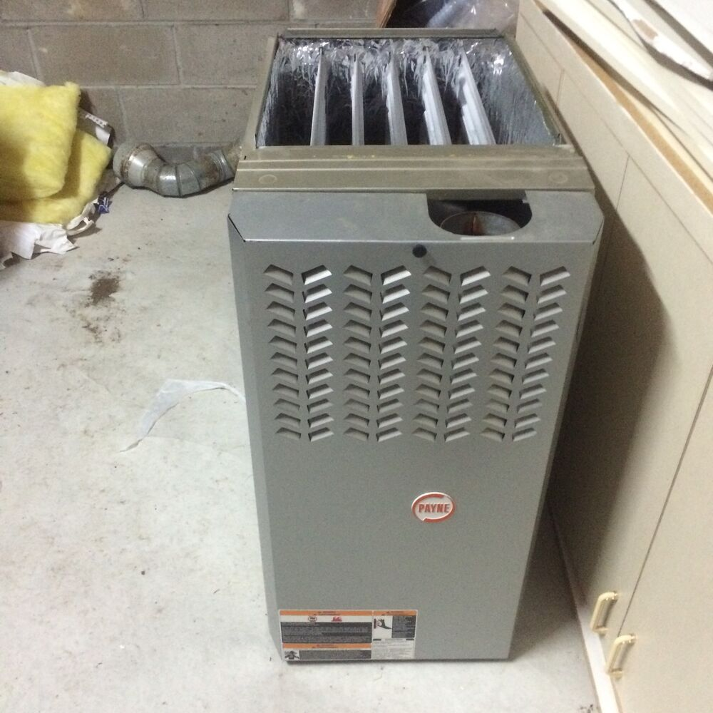 Payne Gas Heating Furnace Ebay