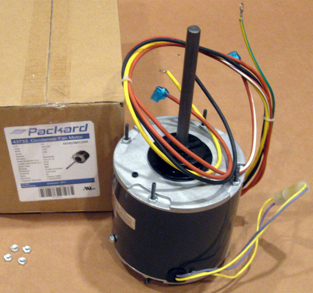 3733 1  3 Hp 1075 Rpm 230 Volts Air Conditioner Condeser