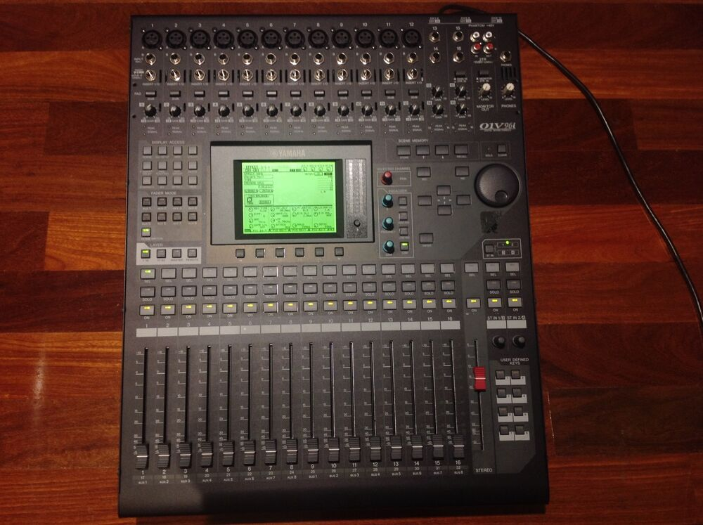 yamaha 01v96i digital mixer ebay. Black Bedroom Furniture Sets. Home Design Ideas