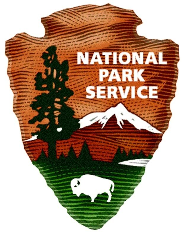 Us National Park Service 2 Decals Vinyl Decals