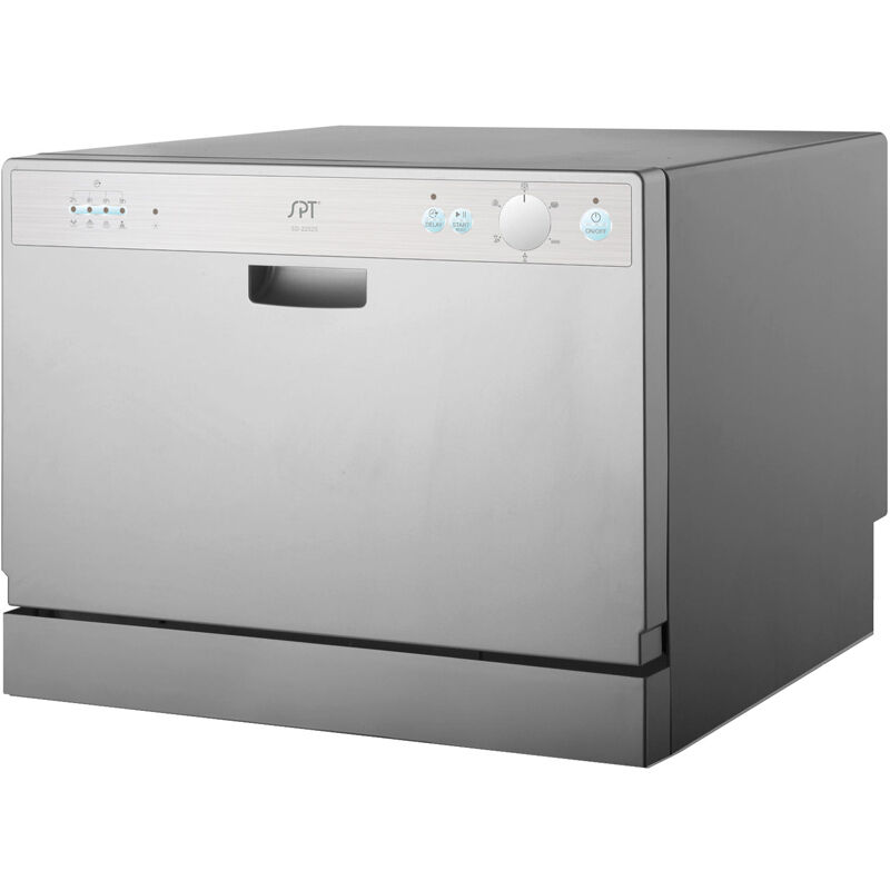 Countertop Dishwasher w/ 6 Preset Cycles & Delay, Portable Apartment ...