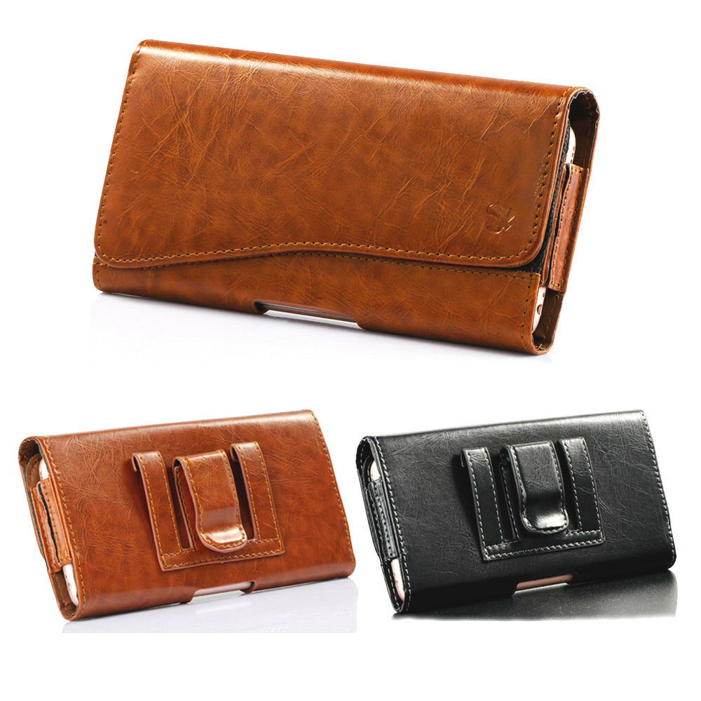 Leather Iphone  Plus Belt Holster