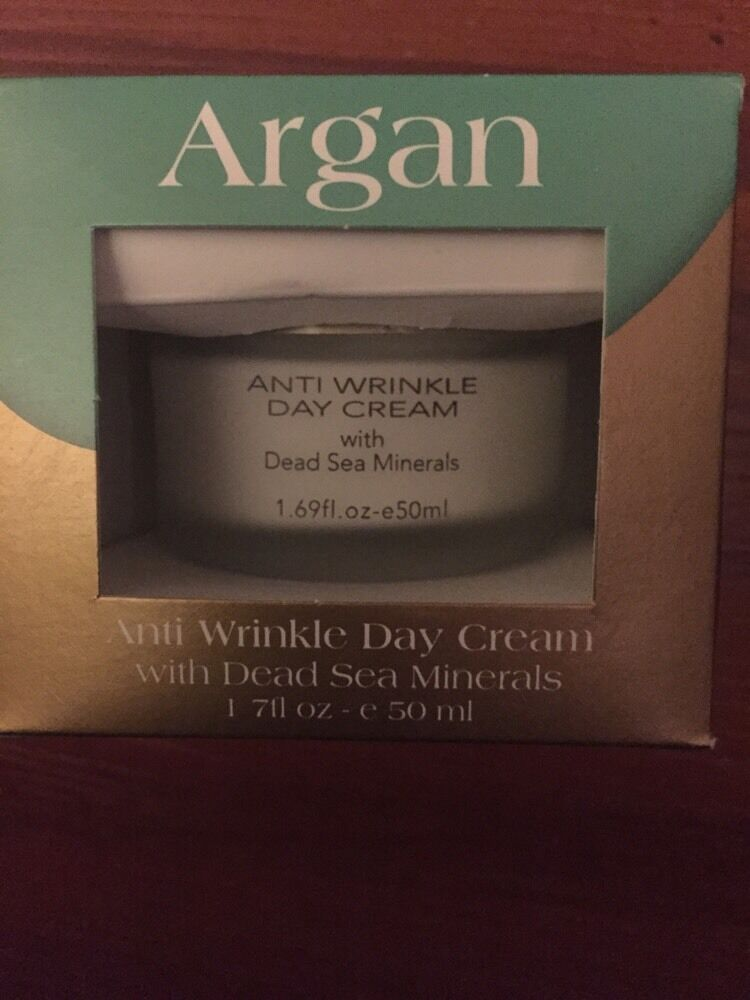 dead sea collection argan anti wrinkle day cream with dead. Black Bedroom Furniture Sets. Home Design Ideas