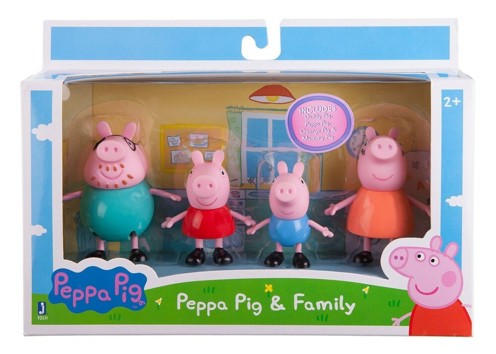 Peppa Pig Toys : Peppa pig toy family pack figures toys gift set daddy