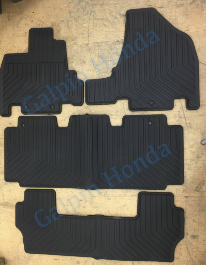 Genuine Oem Honda Odyssey All Season Floor Mat Set 2011