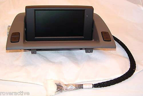 Bmw Oem E85 E86 Z4 2003 2008 Navigation Monitor Central Information Display Grey Ebay
