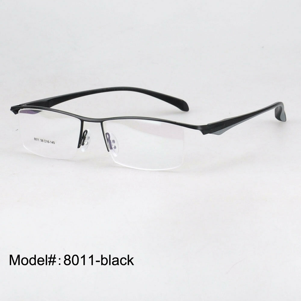 Eyeglass Frame Temple : 51eyeglasses 8011 metal TR temple RX spectacle frames ...