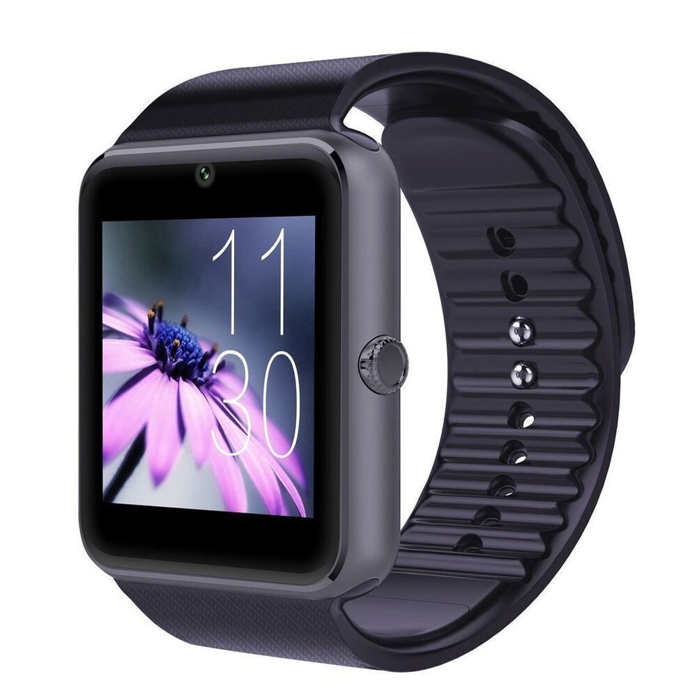 Bluetooth Smart Wrist Watch Sim Phone Mate For Android