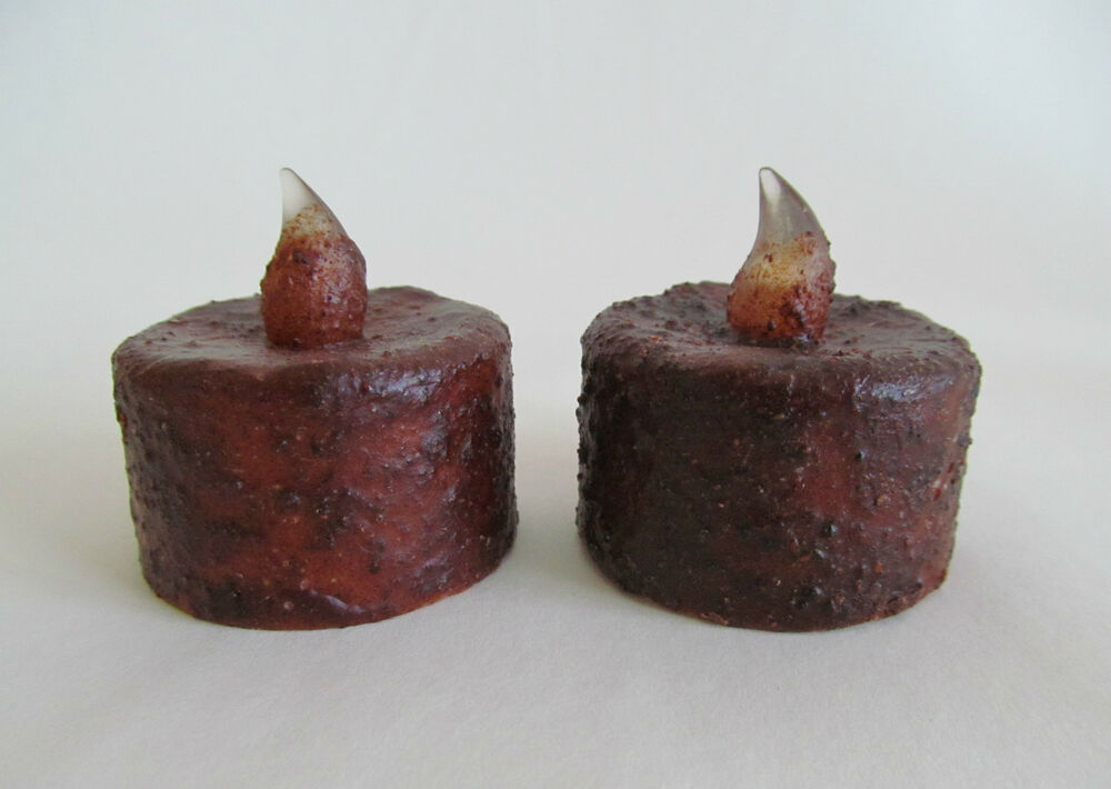 Primitive Battery Operated Flameless Timer Tealight