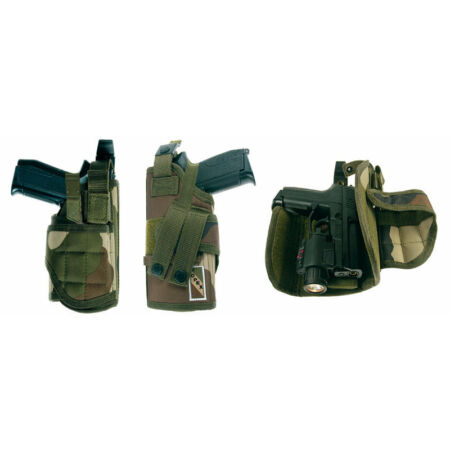 img-HOLSTER CEINTURE ATTACHES MOLLE ARMÉE MILITAIRE POLICE CCE GAUCHER