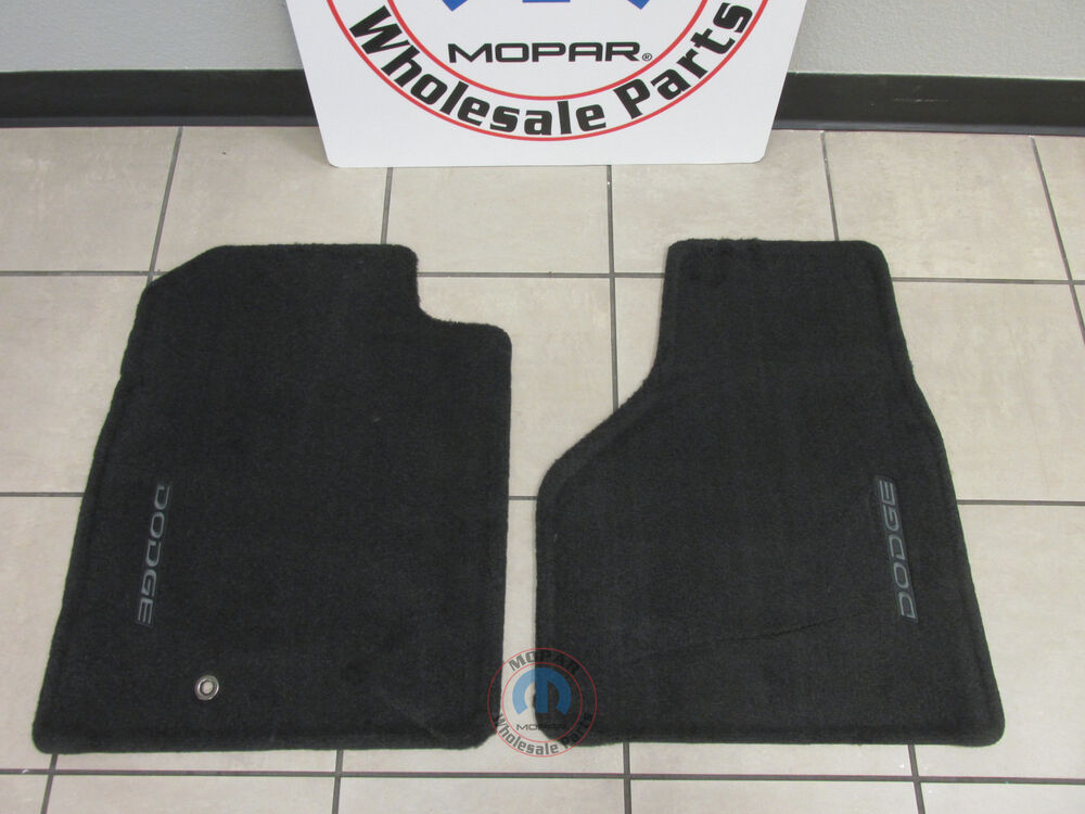 Dodge Ram Slate Gray Production Style Front Floor Mats New