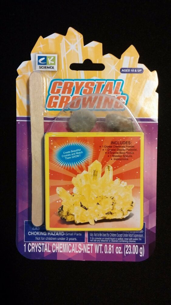 ck science crystal growing kit instructions
