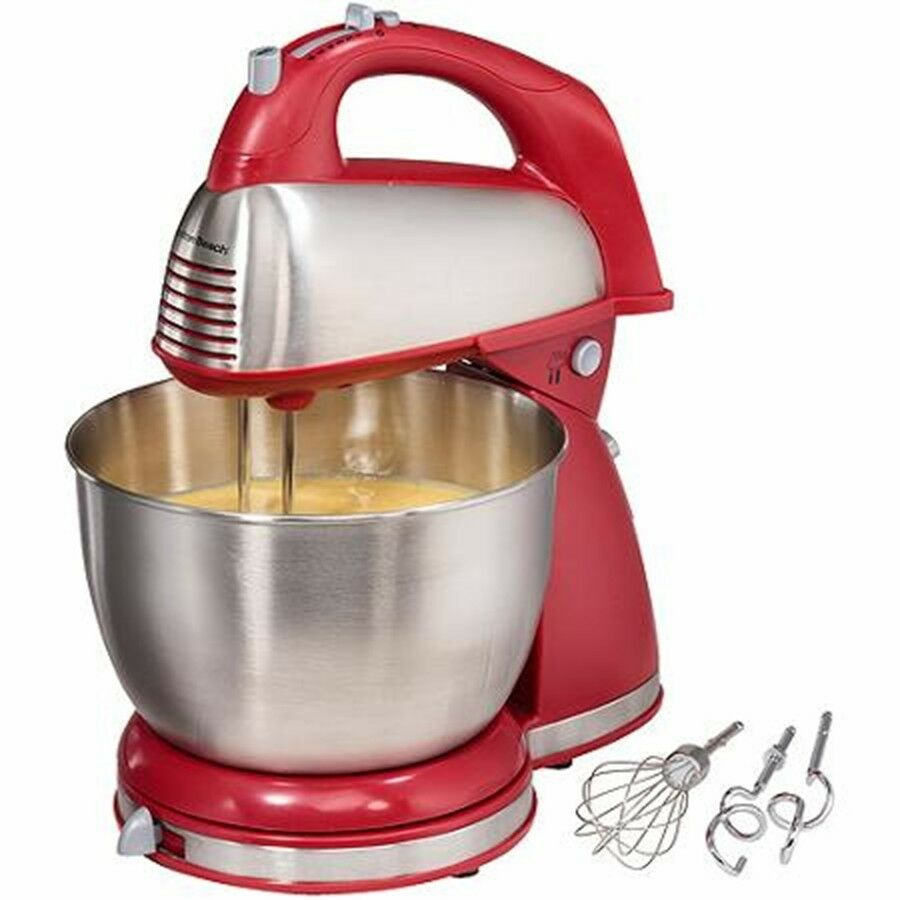 Hand Mixer Cake ~ Mixer with stainless steel mixing bowl detachable hand