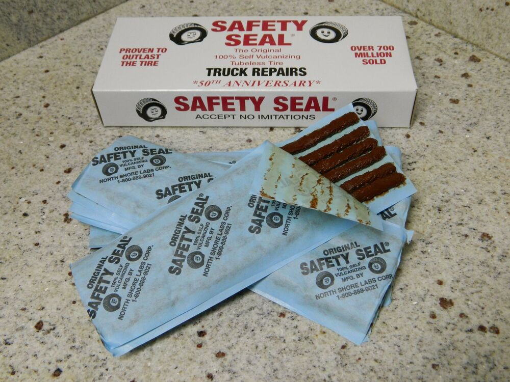 Safety Seal Tire Repair String Plugs Truck 30 Qty Made In
