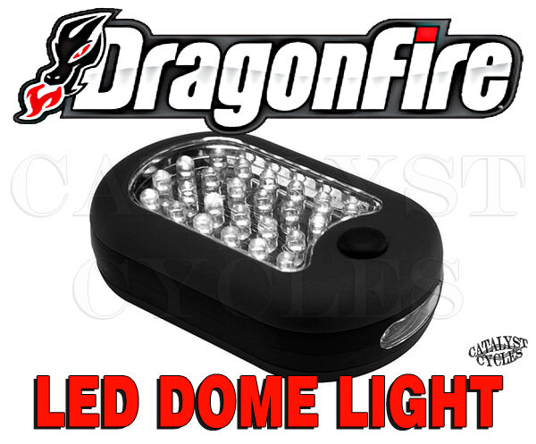 Dragonfire Racing Led Dome Light With Mounting Bracket For