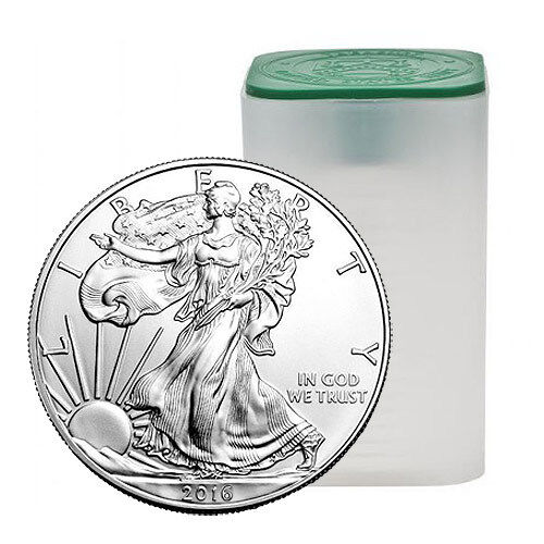 2016 American Silver Eagle Tube 999 20 Oz Total New
