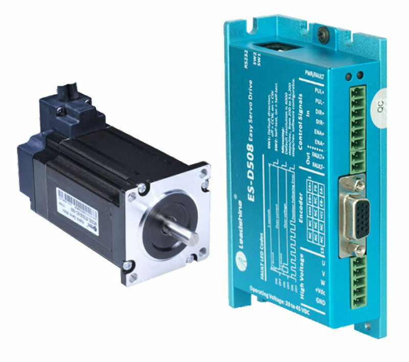 New leadshine easy servo drive es d508 es m32320 3 phase for Servo motors and drives