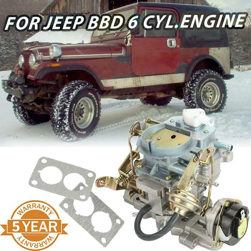 car carburetor carb for jeep bbd 6 cyl engine 4 2 l 258 cu. Black Bedroom Furniture Sets. Home Design Ideas