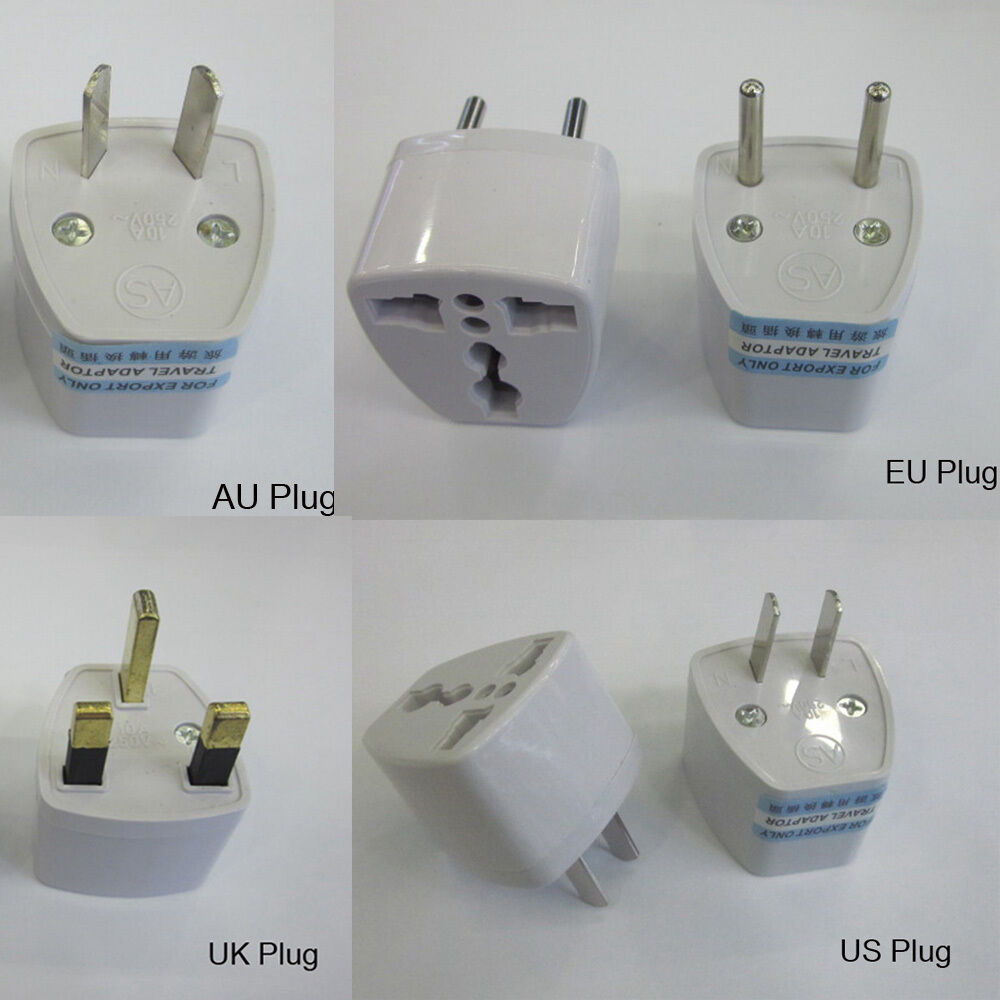 for charger wall ac power plug adapter converter us usa uk. Black Bedroom Furniture Sets. Home Design Ideas