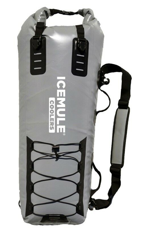 Icemule pro catch large fishing cooler grey ice mule 42 for Best fishing coolers