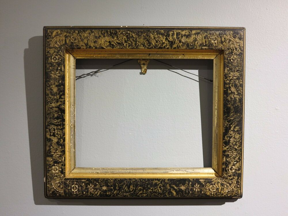 aesthetic period antique picture frame 8 x 10 inches ebay. Black Bedroom Furniture Sets. Home Design Ideas