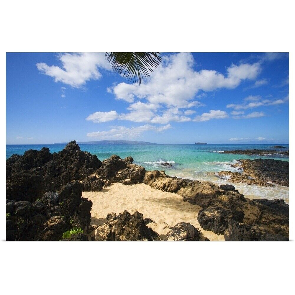 Maui Hawaii Beaches: Poster Print Wall Art Entitled Hawaii, Maui, Makena, Maui