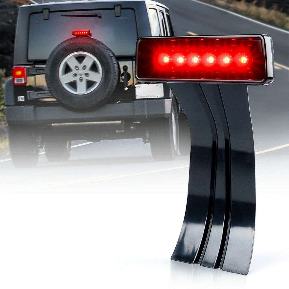 3rd Led Replacement Brake Light For 07 17 Jk Jeep Wrangler