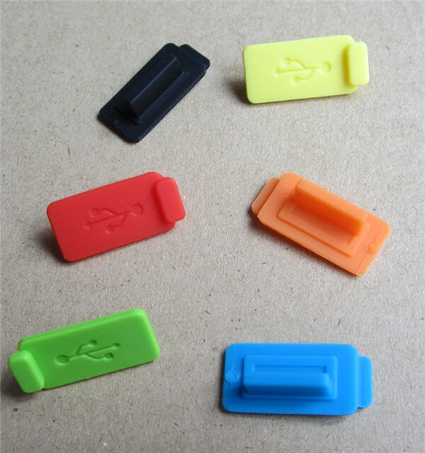 Silicone Rubber Protective Anti Dust Usb Plug Cover