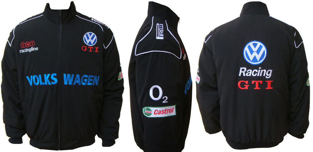 volkswagen vw gti jacket veste blouson ebay. Black Bedroom Furniture Sets. Home Design Ideas