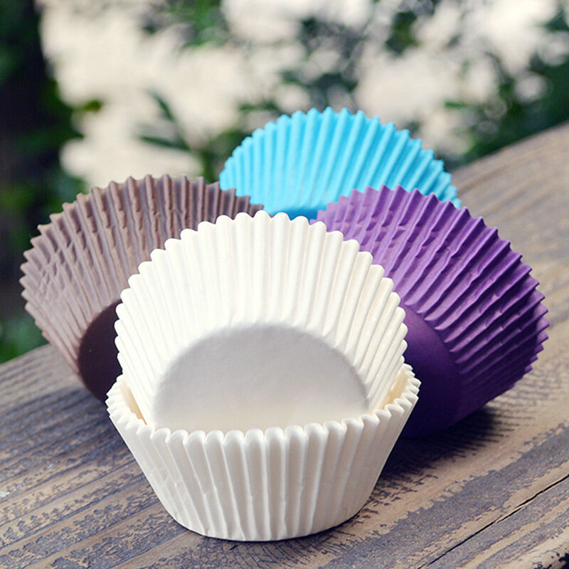 Paper Cupcake Cups : Pcs paper cake cup chocolate liners baking cupcake