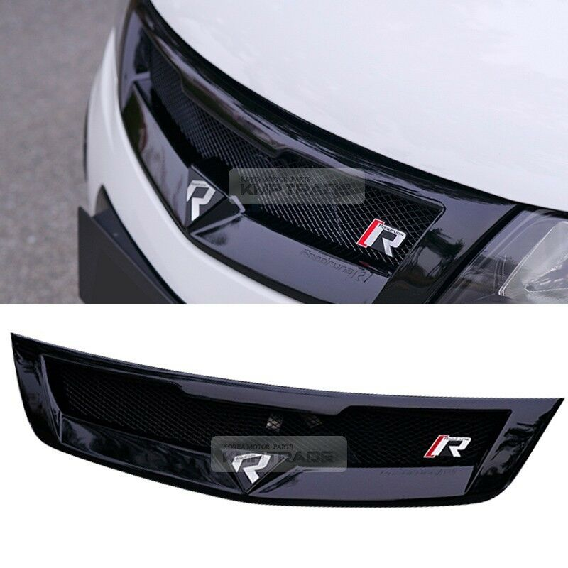 Front Radiator Hood Emblem Grille Unpainted For Kia 2010