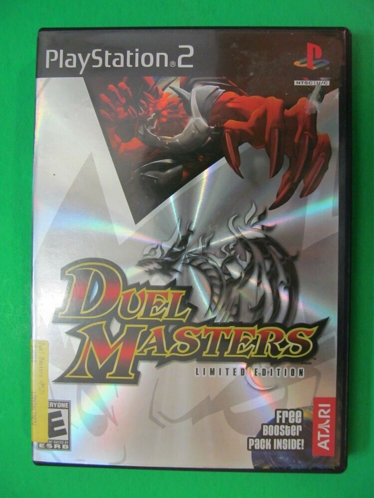 Play Station PS2 Duel Masters Limited Edition | eBay