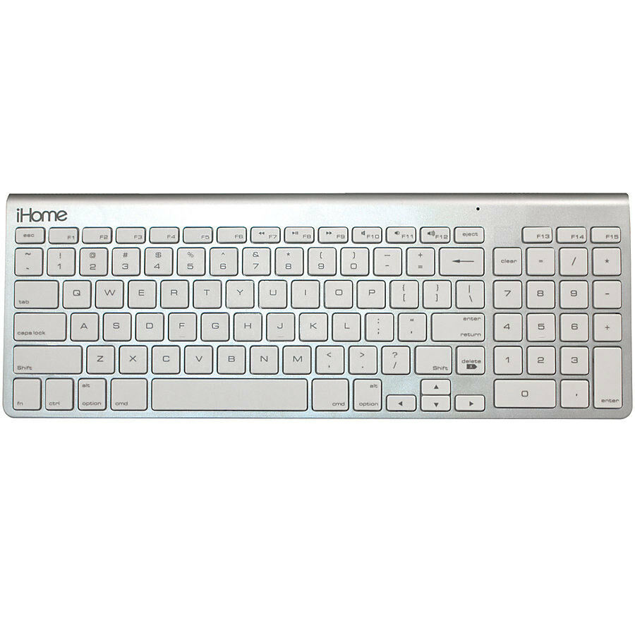 ihome imack130 wireless bluetooth keyboard for macs ebay. Black Bedroom Furniture Sets. Home Design Ideas