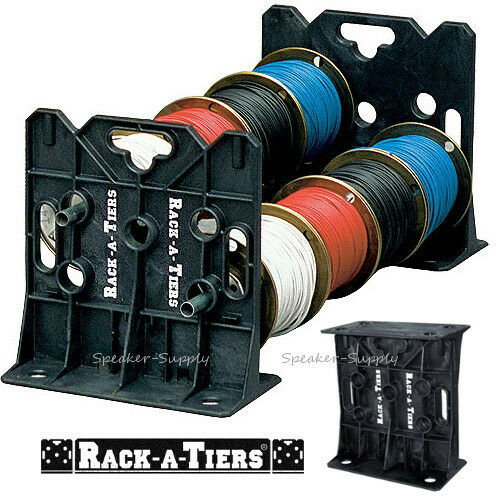 Rack A Tiers Wire Dispenser Cable Caddy Portable Rack