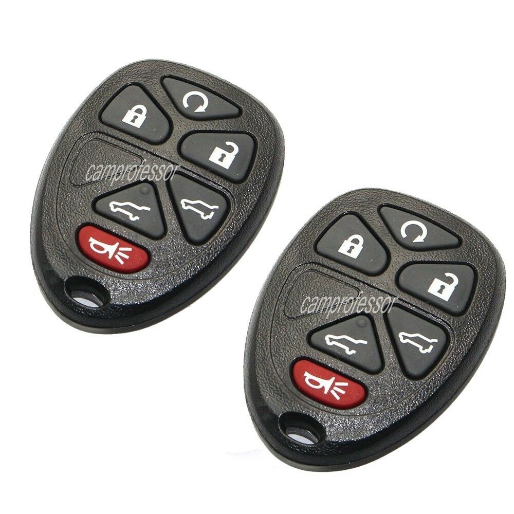 2* Keyless Entry Remote Start Control Key Fob For CADILLAC