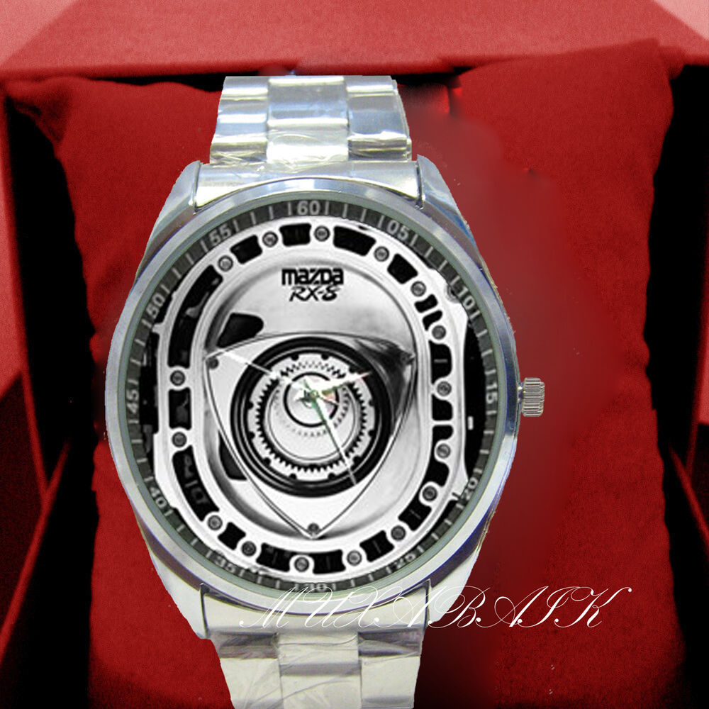 new mazda rx 8 rx7 rotary engine part metal watch ebay. Black Bedroom Furniture Sets. Home Design Ideas