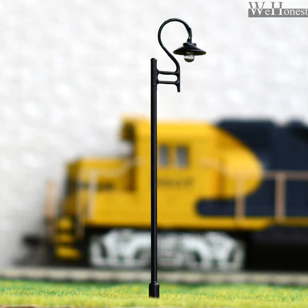 5 x oo ho scale model train lamps railroad lamp posts led street 5 x oo ho scale model train lamps railroad lamp posts led street lights l603 ebay arubaitofo Image collections